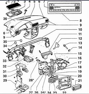 Can You Show Me In A Diagram How To Take Off The Dashboard Off A 2001 Volkswagen Passat 1 8t   I