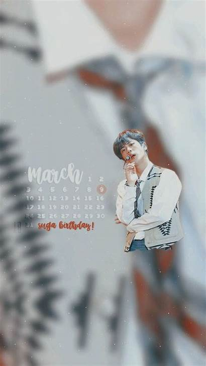 Birthday Happy Jimin Wallpapers Bts March Calender