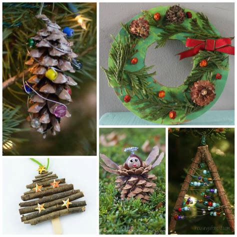 nature crafts for what can we do with 860 | Christmas Nature Crafts Kids 3