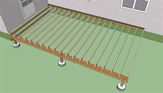 deck building deck building joist size