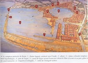 Portus with it's distinctive hexagonal harbor ~ Jean ...
