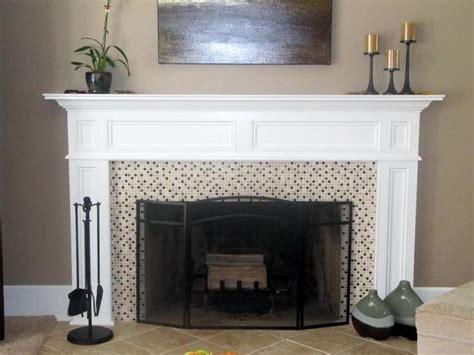 build  fireplace mantel  scratch diy home
