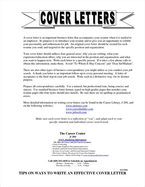 cover letter no posting exles cover letter