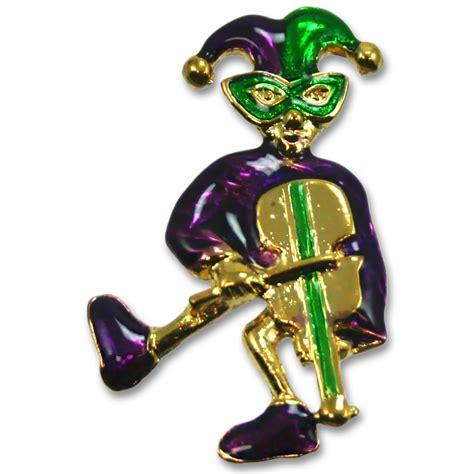 jester pin  violin mardigrasoutletcom