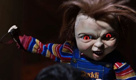chucky shown    childs play footage