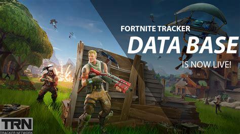 fortnite tracker data base