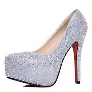 Scarpe larghezza e nere con pietre con punta aperta per l'estate da sposa per. Scarpe da sposa - Scarpe col tacco - Tacchi / Spuntate ...