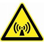 Symbol Ionizing Warnschilder Radiation Non Straling Strahlung