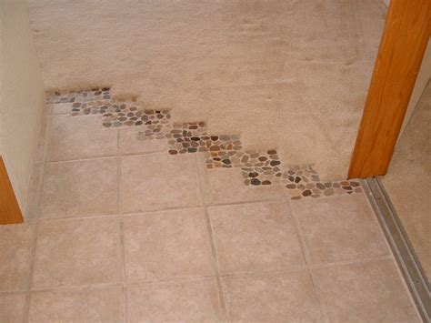 secret carpet to tile transition methods interior home