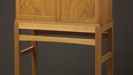 krenov style cabinet finewoodworking