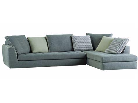 divano angolare sfoderabile in tessuto by roche bobois design sacha lakic