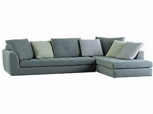 canape d39angle en tissu avec revetement amovible urban by With tapis ethnique avec canapé d angle roche bobois