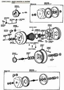 Fj40  Fj55  Bj40  Fj60  Fj62 Brake Booster Illustration