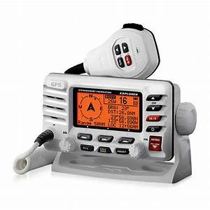 Standard Horizon Gx1700w Explorer Gx1700 Gps Fixed Mount Vhf Radio 788026134489