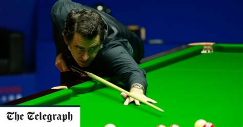 Twitter patrick won the last frame on respotted black despite having needed two snookers. Ronnie O'Sullivan issues scathing attack on young players ...