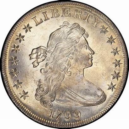 1799 Dollar Silver Bust Draped Bb Coin