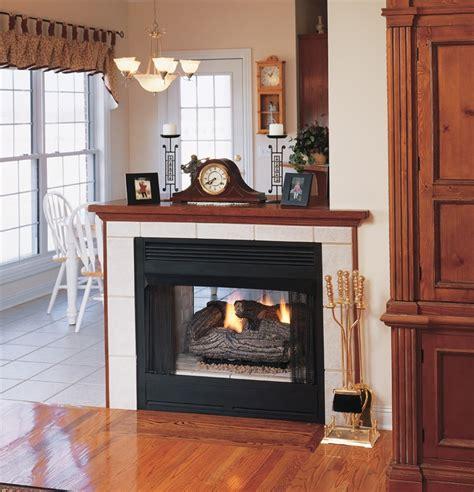 see through fireplace vantage hearth vent free gas see thru firebox