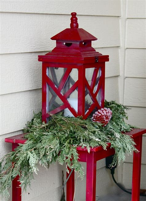 christmas outdoor lanterns 35 cool lanterns decor ideas for outdoors gardenoholic