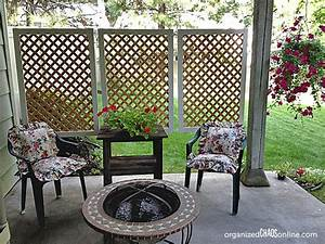 Diy patio privacy screens the garden glove for Diy patio privacy screen