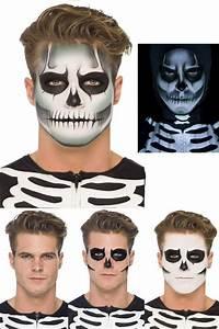 Maquillage Halloween Enfant Facile : kit maquillage squelette phosphorescent maquillage ~ Nature-et-papiers.com Idées de Décoration