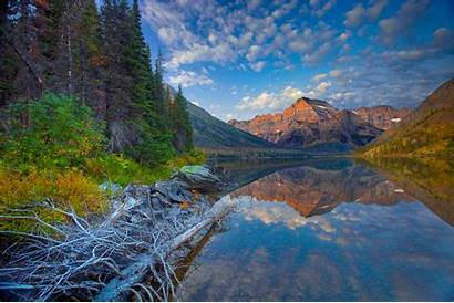 Montana Lake Forest Mountain Sky United States