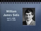 What Was William James Sidis IQ, 250-300? | Neuroscientia