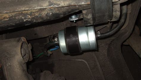fuel filter replacement  bmw