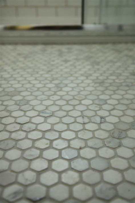 marble hex floor tile modern country style our gorgeous hexagonal marble mosaic