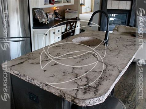 Outdoor Kitchen Island Kits - do it yourself concrete countertop kit system surecrete disign products prlog