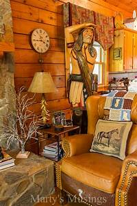 Rustic, Cabin, With, Western, Theme, Decor