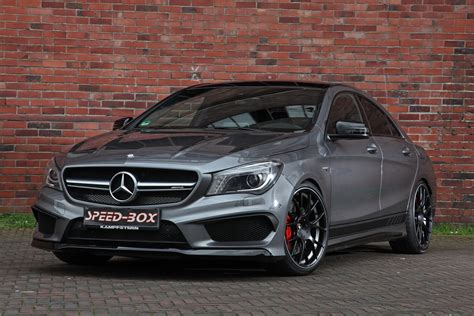 Facelifted Mercedesamg Cla 45 Gets Horsepower Injection