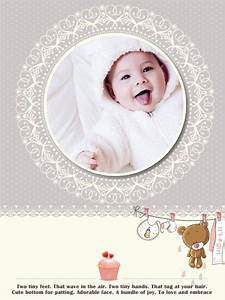 Baby, Collage, Card, Add-on, Templates