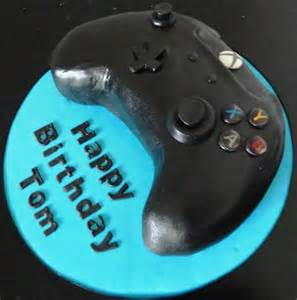 Xbox One Controller Birthday Cake