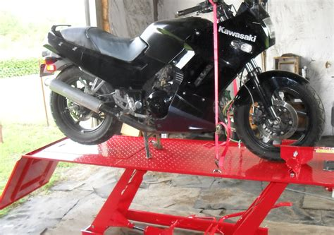 Motorcycle Lift Stand Plans Neat Wood Projects Diy Pdf