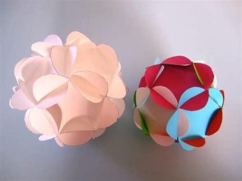 aus papierröllchen schneeb 228 lle aus papier basteln einfach ohne kleber