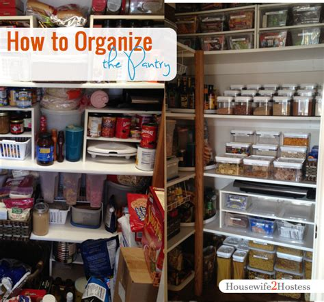 Pantry Organization 101  Housewife2hostess