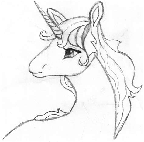 unicorn easy drawing at getdrawings com free for