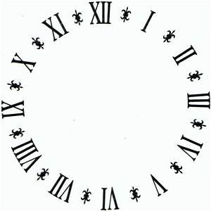 10 En Chiffre Romain : decalcomanie chiffres romains 10 diam tres atelier ombre et lumiere sur rond sans bord ~ Melissatoandfro.com Idées de Décoration