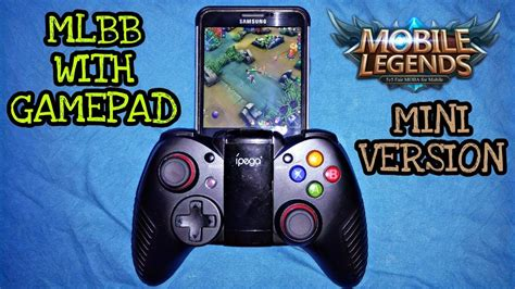 Mobile Legends Mini Version With Gamepad Android Gameplay
