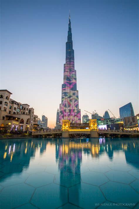 burj khalifa light show wt journal