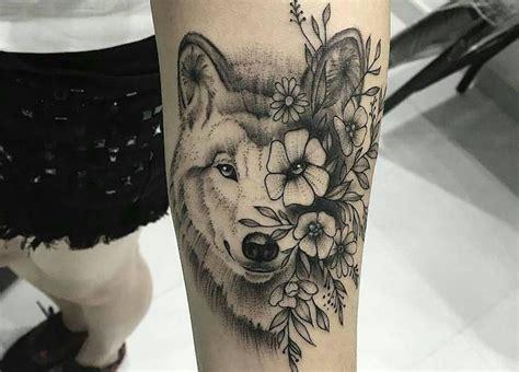 Tatouage Loup Femme Tatouage Loup Femme Mandala Tatouage Loup