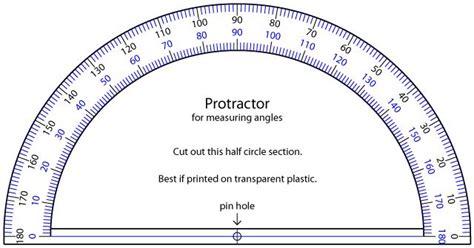 printable protractor protractor printable ruler
