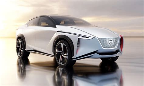 nissan debuts imx electric suv concept   mile