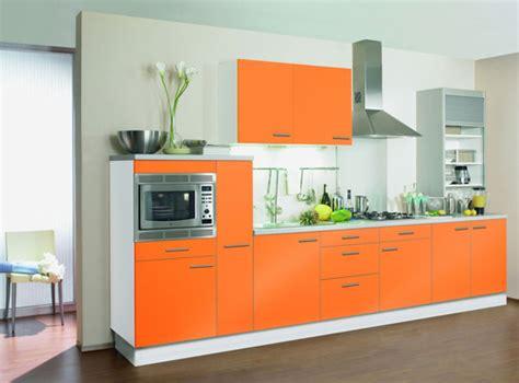 cuisine en orange cuisine aménagement et décoration de votre cuisine