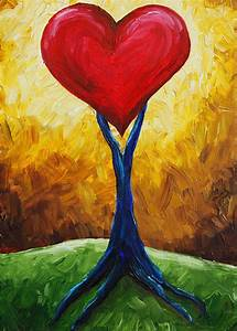 Images For > Best Abstract Paintings Love | Love-Hearts ...