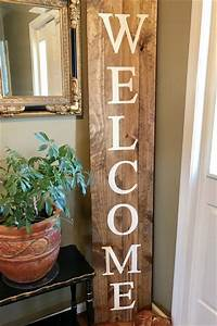 welcome wood sign 6 39 knot and nest designs