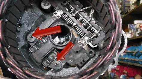 Mitsubishi Alternator Repair / Brush Change. Fits Pajero