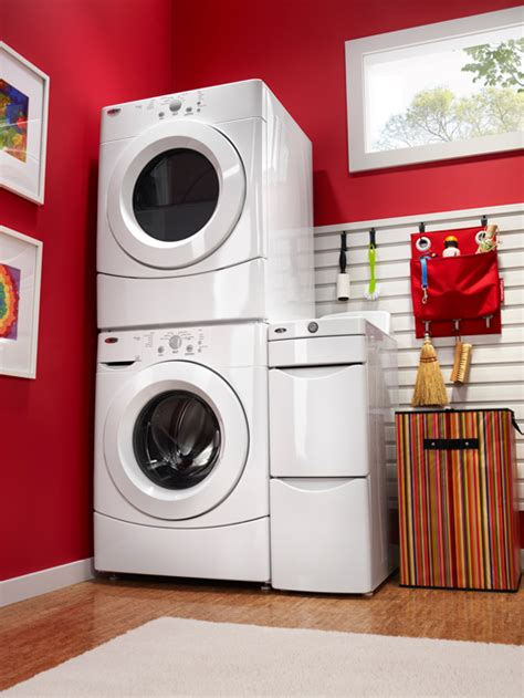 amana washer  dryer stacked image codys appliance repair