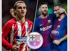 How Barcelona could look with Antoine Griezmann Sport