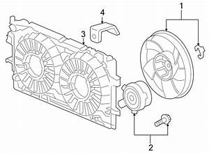 Chevrolet Impala Engine Cooling Fan Motor  Right  Liter